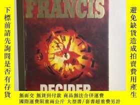 二手書博民逛書店DECIDER罕見(決策者) 英文原版書Y263731 Dick