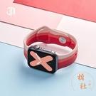 適用apple watch6表帶iwatch5代se蘋果手表表帶硅膠運動腕帶智能配件【橘社小鎮】