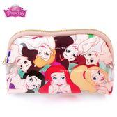 日本限定 迪士尼公主 小美人魚家族 收納包 / 化妝包