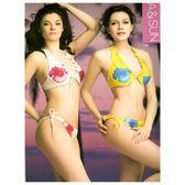 夏兩件式比基尼女泳裝兩件式泡湯SPA 泳衣2 件式游泳裝三點式泳裝比基尼哪裡買  會