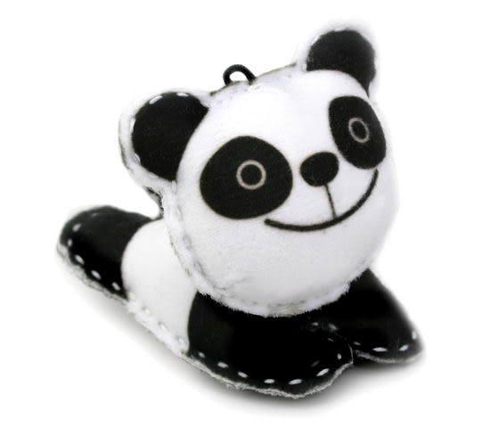 ☆猴子設計☆ 貓熊布偶明信片-明信片可以DIY成一個可愛布偶-可加購材料包