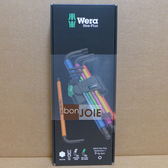 ::bonJOIE:: 德國 Wera 950/9 Hex-Plus Multicolour 1 彩色版六角扳手(球頭) 9件組 捷克製 Hex Key Set 950 SPKL L-key