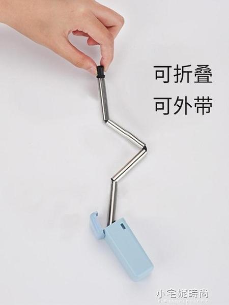 吸管套裝粗金屬便攜鐵吸管家用不銹鋼吸管304環保飲管長【全館免運】