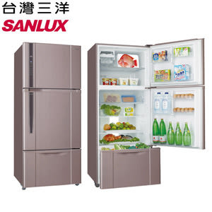 好禮送★【SANLUX三洋】480L變頻雙門冰箱SR-C480BV1