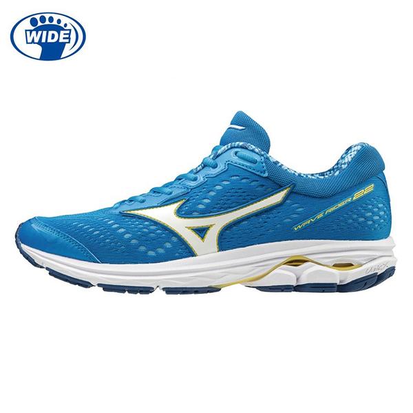 MIZUNO 19SS 高階款 緩衝型 女慢跑鞋 RIDER 22系列 3E寬楦 J1GD183216 贈1襪【樂買網】
