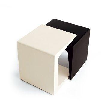 Kristalia CU Side Table / Bench 45x40cm CU 極簡方塊造型 方形 邊桌 / 矮凳 / 茶几 - 小尺寸