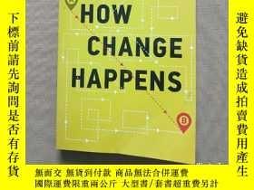 二手書博民逛書店How罕見Change Happens(英文版)Y11026 C