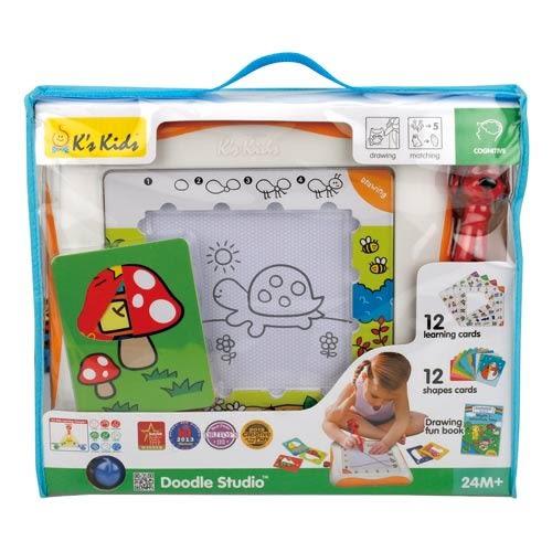 【奇買親子購物網】K''s Kids Doodle Studio 第二代魔法畫家學習組