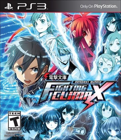 PS3 電擊文庫 FIGHTING CLIMAX(美版代購)