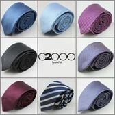 領帶男2000韓版窄款6cm真絲商務領呔上班正裝結婚學生禮盒裝G 晴天時尚館
