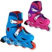 迪卡儂溜冰鞋 兒童初學趣味可調節易穿戴3-5-6-7-8歲輪滑OXELO-L