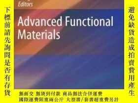 二手書博民逛書店Advanced罕見Functional MaterialsY2