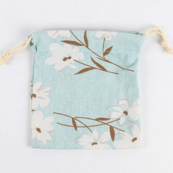 [全館5折-現貨快出] 創意 可愛 印花 卡通動物 收納袋束口袋 抽繩 零錢袋 收納 衛生棉收納袋子