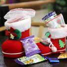 聖誕飾品 小靴子糖果禮盒袋 派對零食裝飾 麋鹿雪人 【PMG294】SORT