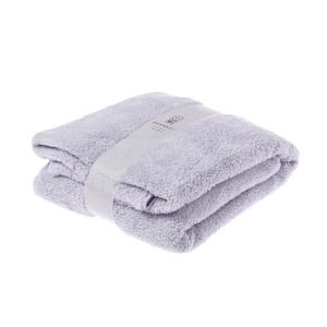 HOLA 極超細纖維素色抗菌浴巾-粉紫70X150cm