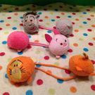 【發現。好貨】日本迪士尼可愛tsum tsum跳跳虎  維尼 小豬 驢子雙頭髮束 髮圈 兒童髮飾