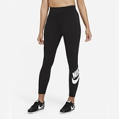 NIKE 緊身長褲 NSW ESSENENTIAL 黑 高腰 健身褲 束褲 女 (布魯克林) CZ8529-010