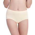 LADY 超彈力親膚無痕系列 高腰低衩三角褲(黃色)