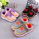 快速出貨 正韓運動鞋秋時尚童鞋兒童跑步鞋男童透氣網鞋女童休閒鞋學生