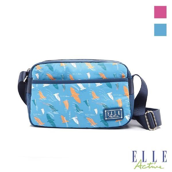 Backbager 背包族 【ELLE Active】自由鴿系列方型側背包/斜背包/隨身包 粉紅色/藍色