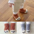 狸貓獸爪棉質加厚毛圈止滑襪 童襪 棉襪 造型襪 毛圈襪
