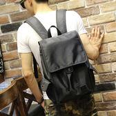 束口後背包 男雙肩包 可放14吋筆電【非凡上品】x1235