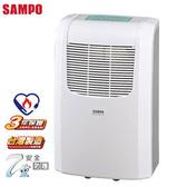 【艾來家電】【刷卡分期零利率+免運費】SAMPO 聲寶 6L 空氣清淨除濕機 AD-BA122FT ★能源效率等級2級
