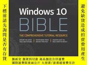 二手書博民逛書店Windows罕見10 BibleY410016 Rob Tidrow, Jim B... ISBN:978