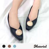 包鞋  氣質古典平底包鞋 MA女鞋 T2521