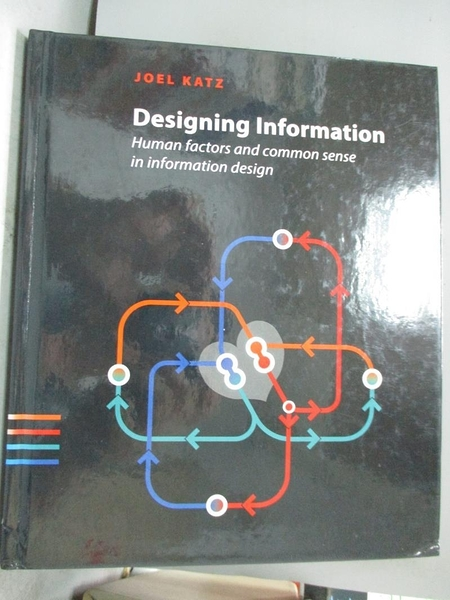 【書寶二手書T5/廣告_ZKA】Designing Information: Human Factors and Common Sense in Information Design_Katz, Joel