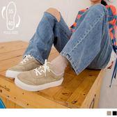 《SD0226》台灣製造~絨面X耐髒百搭休閒板鞋 OrangeBear