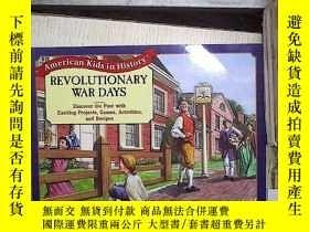 二手書博民逛書店AMERICAN罕見KIDS IN HISTORY REVOLU