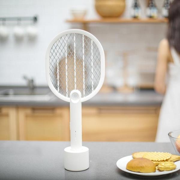 電蚊拍 夏季新品P1滅蚊拍2000毫安培電池LED照明多功能電蚊拍充電防蚊拍