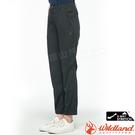 Wildland荒野 0A81307-101煙灰色 女彈性透氣抗UV休閒褲 大尺碼耐磨防曬褲/輕薄耐磨褲/排汗運動褲
