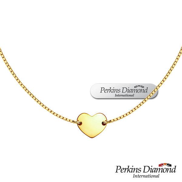 PERKINS 伯金仕 Mini Heart系列 925純銀項鍊