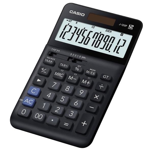 CASIO 計算機專賣店 J-120F 輕巧桌上型計算機 12位數 總和記憶器(GT) ADD2模式 千分位符號