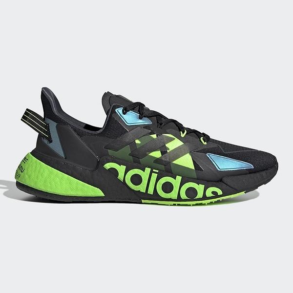 ADIDAS X9000L4 HEAT.RDY 男鞋 慢跑 網布 透氣 Boost+EVA 複合式中底 黑 綠 藍【運動世界】GY3071