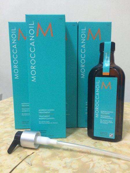一般型200ml 摩洛哥優油 護髮油 堅果油 MOROCCANOIL 附壓頭 原廠新品