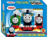 湯瑪士小火車立體六面拼圖 (12塊)【含淚出清再折$10】/ 3D立體積木 親子 幼兒玩具 益智教材