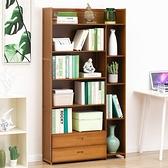 楠竹多功能置物櫃-抽屜款六層90cm 展示櫃 收納櫃 書櫃 抽屜櫃 【Y10048】快樂生活網