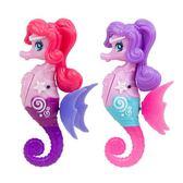 兒童游泳洗澡電動玩具會游泳的電子寵物單只裝仿真小海馬