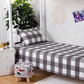 床單 學生床單單件格子單人夏季單子宿舍寢室上下鋪1.2M1.5米1.8床被單【美物居家館】