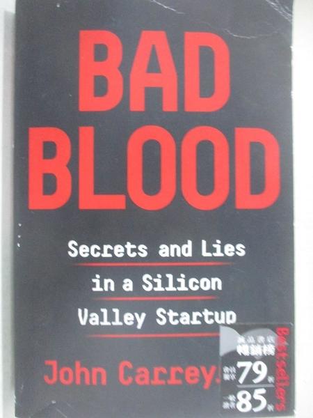 【書寶二手書T1/藝術_EPQ】Bad Blood: Secrets and Lies in a Silicon Valley Startup