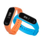 小米手環4 運動矽膠錶帶 替換錶帶 智慧手錶還 矽膠運動男女 錶帶 運動矽膠腕帶 運動手環錶帶