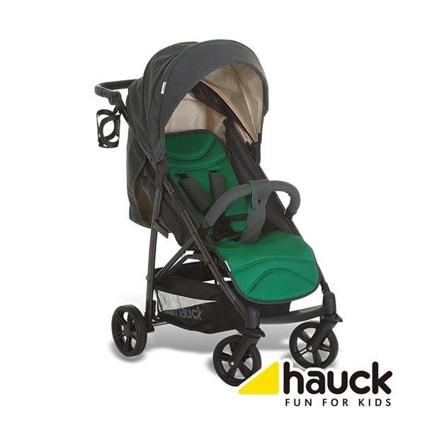 德國 Hauck Rapid 4S 單手秒收手推車-翡翠綠
