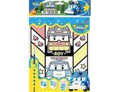 波力 點點水彩畫 (藍) PL003A 根華 (購潮8) POLI 救援小英雄