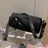 圓筒包斜背包女圓筒包休閒包包2021新款潮夏天小包包女側背韓版洋氣女包 芊墨 上新