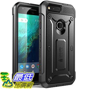 [美國直購] SUPCASE Google Pixel (5.0吋) Case 黑色 [Unicorn Beetle PRO Series] 手機殼 保護殼