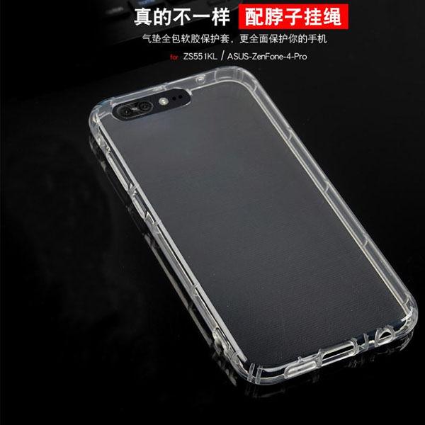 空壓氣囊殼 防摔 華碩 ASUS ZenFone 4 Pro ZS551KL 手機殼 手機套 超薄TPU 透明 軟殼 矽膠殼