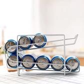 桌面置物架飲料架廚房收納架雙層整理架廚房鐵藝【奇妙商鋪】